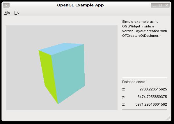 Qt Example Widget